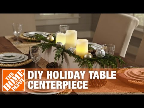 DIY Christmas Centerpiece: How to Create a Wooden Centerpiece