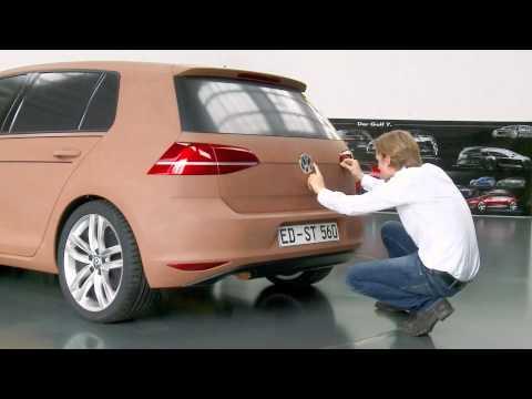 Volkswagen Golf Development - 1:1 Clay Model | AutoMotoTV