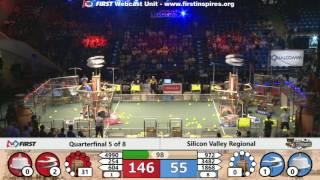 Quarterfinal 5 - 2017 Silicon Valley Regional