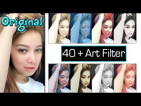 Prisma Art photo filters Free App ! Save Photo In Gallery
