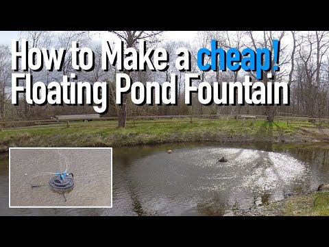 How to Make a Floating Pond Fountain