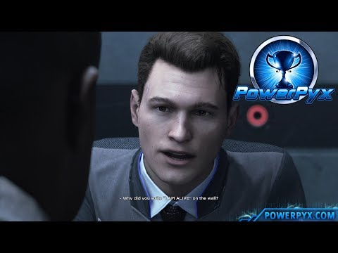 Detroit Become Human - CONFESSION Trophy Guide (Connor Makes Android Confess)