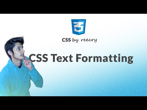 CSS Text Formatting and Fonts (How to Use Google Fonts) in Hindi/Urdu
