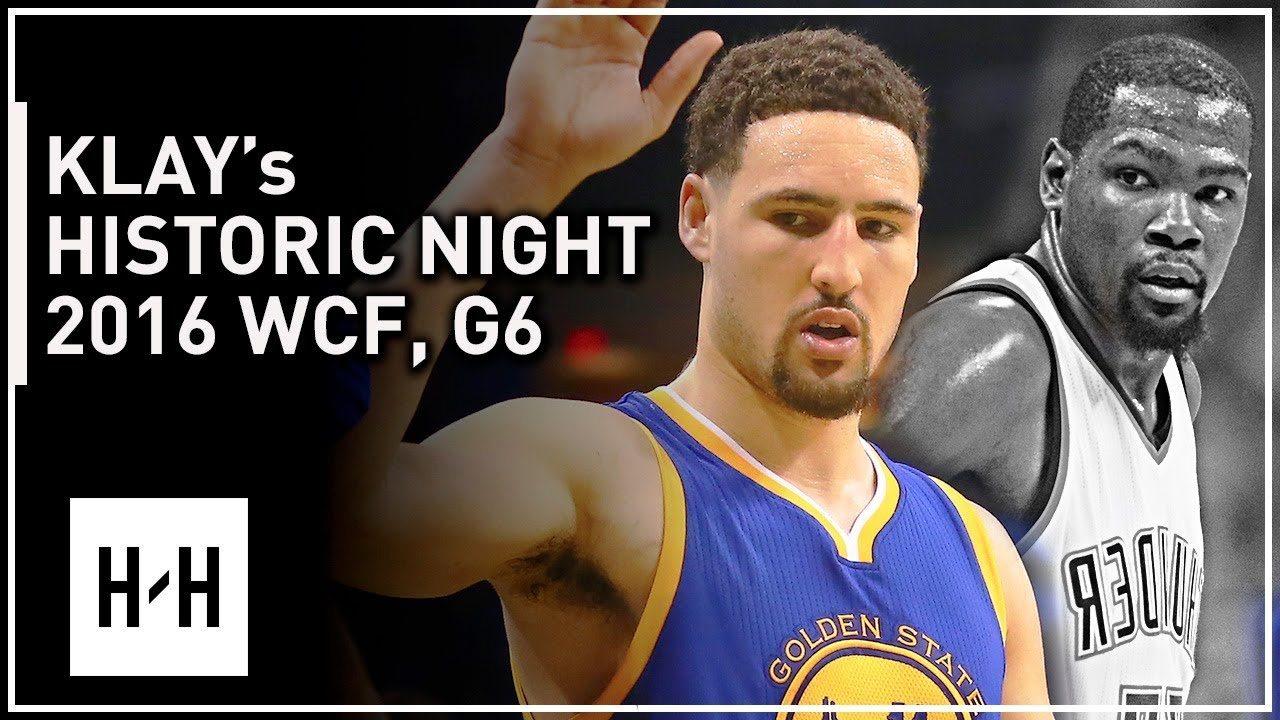 Klay Thompson EPIC Full Game 6 Highlights vs Thunder 2016 Playoffs WCF - 41 Pts, 11 Threes, CLUTCH