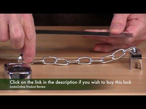 Asec Unlockable from outside door chain    LocksOnline Product Review