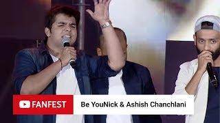 Be YouNick & Ashish Chanchlani @ YouTube FanFest Mumbai 2018