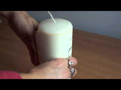 Christmas Music Candle