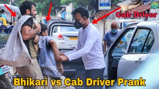 Beggar vs Cab Driver - Shocking Reactions Social Experiment India 2020  By TCI