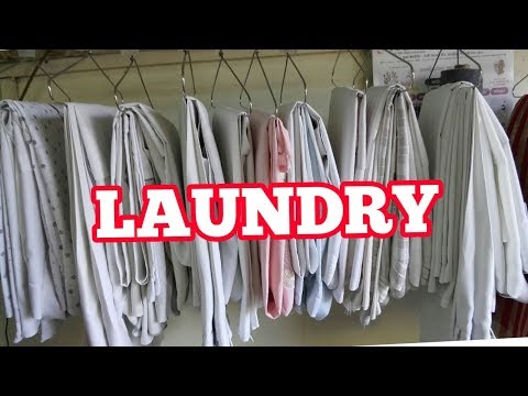 how do  laundry owners  dryclean  your  dirty  white  clothes. also ideal  dryclean at home. Hindi