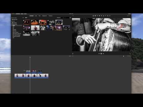iMovie Tutorial Import Video and Photos