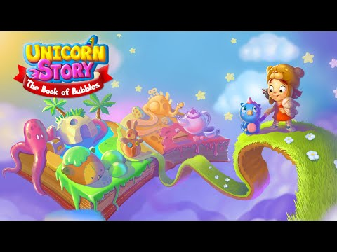Unicorn Story: The Book of Bubbles Android Trailer