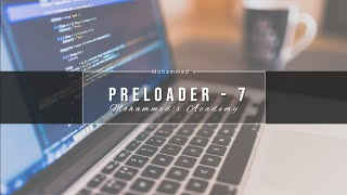 How To Create Preloader In Html & Css | Mohammed