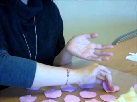 How To Make A Rose Using Air Dry Clay