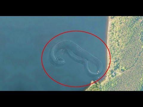 28 STRANGE Sights on Google Earth