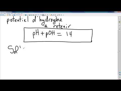 L'échelle de pH et la concentration des ions H+