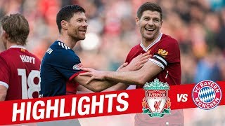 Highlights: Liverpool Legends 5-5 FC Bayern Legends | Alonso, Gerrard, Kuyt and more