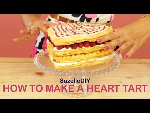 How to Make a Heart Tart