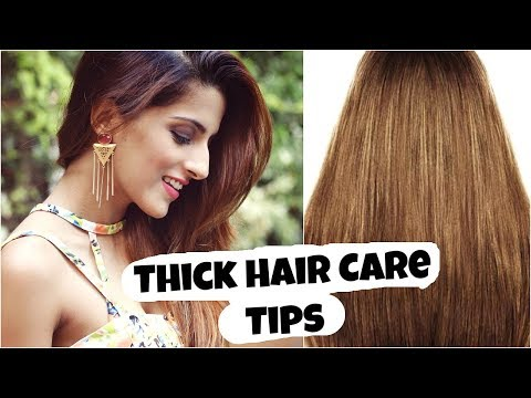 Thick Hair Care Tips: To Stop Hair Loss And Increase Hair Growth, Volume/ Healthy Hair Care Routine