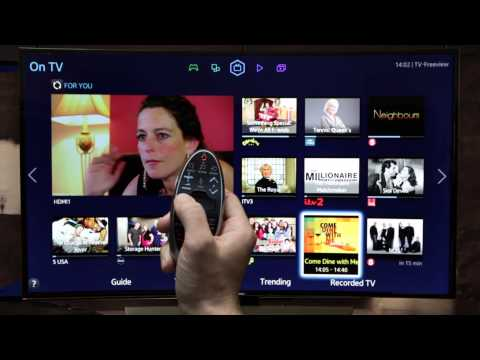 Samsung Smart TV | How To: use your Smart Control