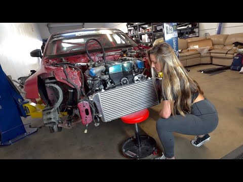 2JZ 350z Car Update - Big turbo?