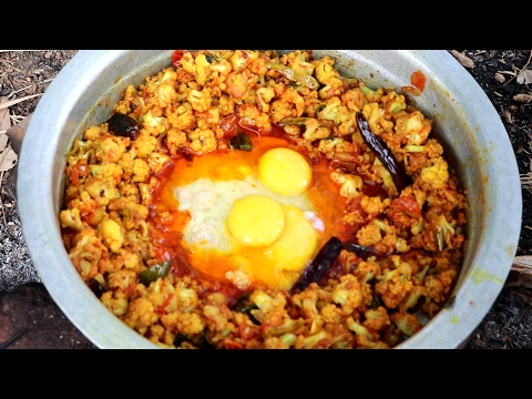 Cauliflower & Egg Recipe By My Granny