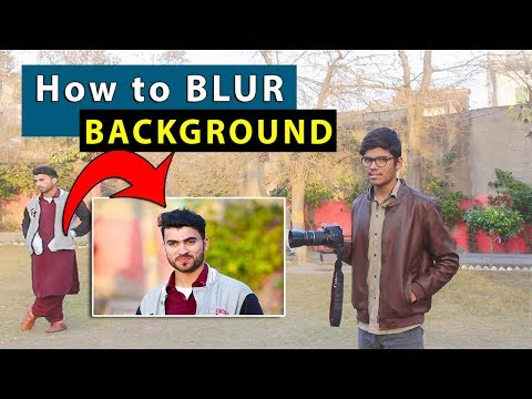 How to Blur Background With ANY DSLR #basic DSLR photography tips (Hindi/Urdu)