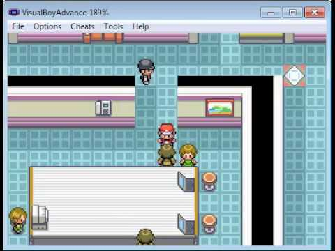 Pokémon Fire red. SAFFRON CITY, Silph Co, batalhas com Gary e Giovanni #14
