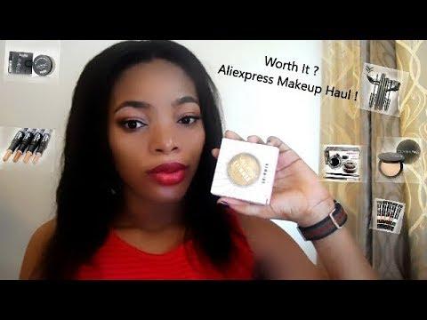 Drugstore / Aliexpress Makeup Haul | GoldQueen Queency