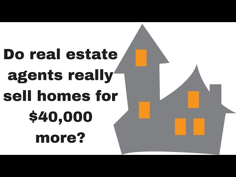 FSBO vs. Real Estate Agent - Do Agents Sell Homes for $40,000 More?