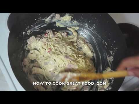 Chicken & Bacon Cream Pasta Recipe Spaghetti