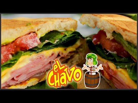 ¡TORTA DEL CHAVO (JAMÓN Y QUESO) | VIERNES DE TORTAS! -PW