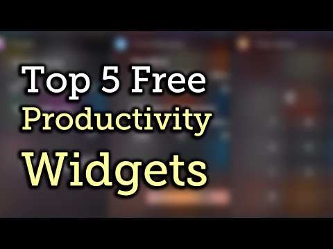 Top 5 Free Productivity Widgets for Your iPad, iPhone, iPod touch - iOS 8 [How-To]