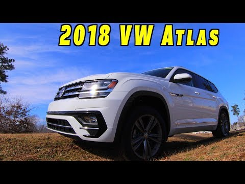 VW Atlas Review 2018 R Line ~ What's Good?
