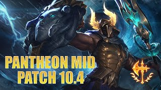 SNOWBALL THE GAME WITH PANTHEON MID | Pantheon Guide & Gameplay | LoL