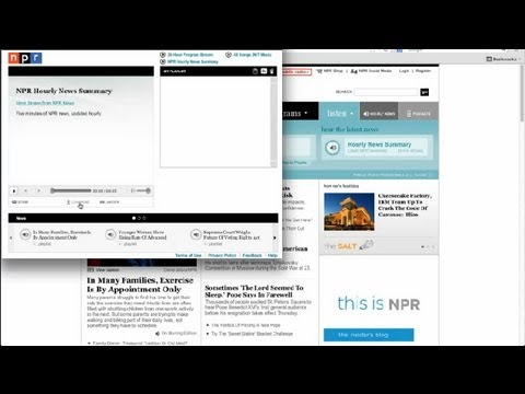 How to Download Audio From NPR : Audio Help