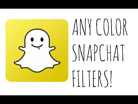 ❤️Snapchat color filters using emojis!