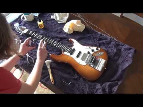 Floyd Rose String Change and Maintenance