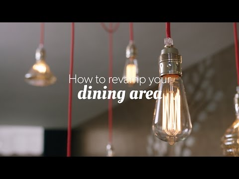 How to revamp your dining area - by Booking.com #BookingHome