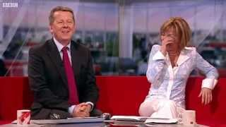 BBC News - Reginald D Hunter makes Sian Williams cry with laughter
