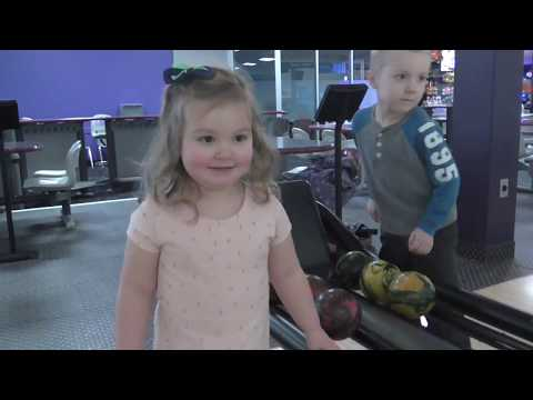 Going Bowling - 5 Pin Bowling  - Family Time