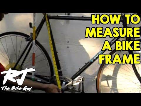 How To Measure A Bike Frame