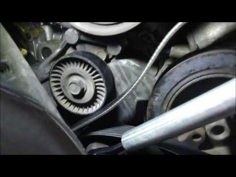 Replace Serpentine Belt 2005 Hyundai Santa Fe 2.7L Engine