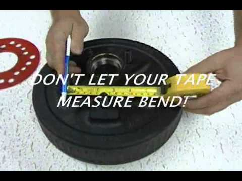 HOW TO MEASURE A 5 BOLT WHEEL PATTERN ACCURATELY