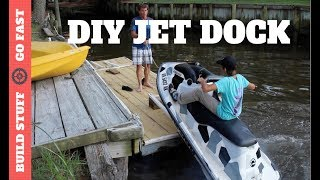 Building a Jet Ski Dock