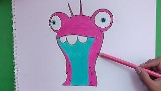 Dibujando Y Coloreando A Demoledora Bajoterra Drawing And