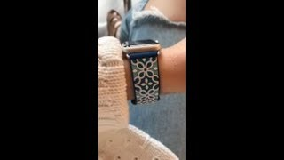 Tech Candy Kaleidoscopic Apple Watch Band Product Review
