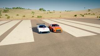 2017 Nissan GTR vs 2016 Aston Martin VULCAN - DRAG RACE! Forza Horizon 3