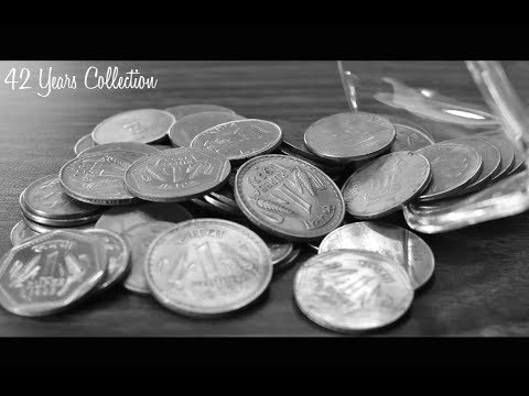 1 RUPEE 42 Years MEGA coin collections in Series | INDIA