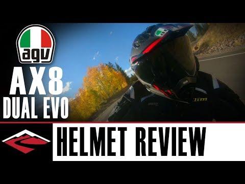 AGV AX-8 Dual Evo Adventure Motorcycle Helmet Review