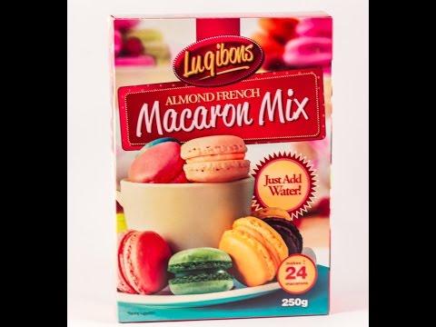 Luqibons Almond French Macaron Mix